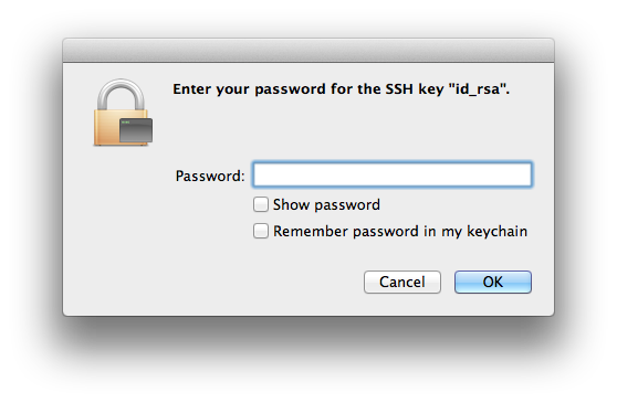 ssh key login