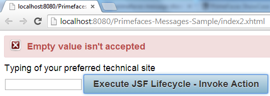 Primefaces Messages - Add Error Message Manually