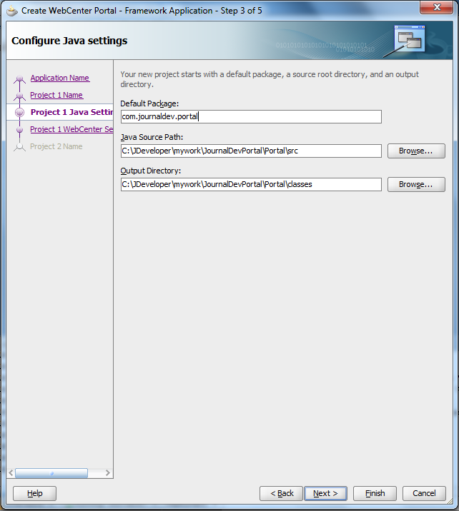 Create Webcenter Portal - Make sure your package is valid one