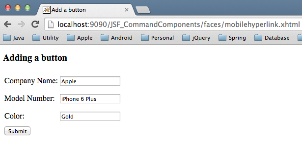 How to write if condition in jsf