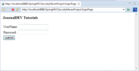 Spring Security Role Based Access Authorization Example