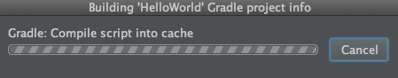 android studio gradle build