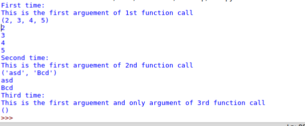 python function, python function arguments, python function variable arguments example