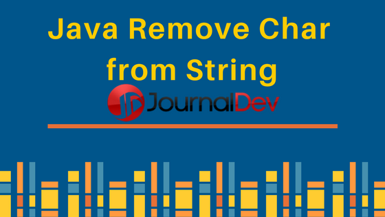 java remove character from string