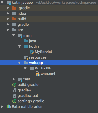 kotlin-javaee-project-structure-updated