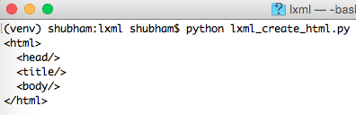 python lxml example