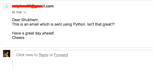Python send email using smtplib journaldev for Python email template