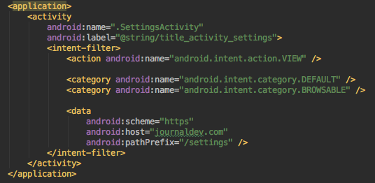 android instant app manifest main