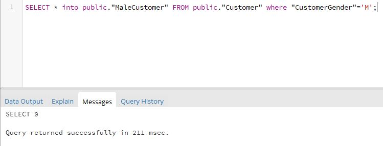 SQL Select Into For All Columns