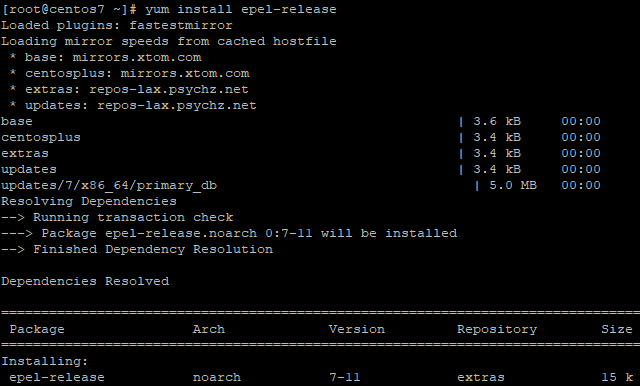 Install Epel Release In Centos7