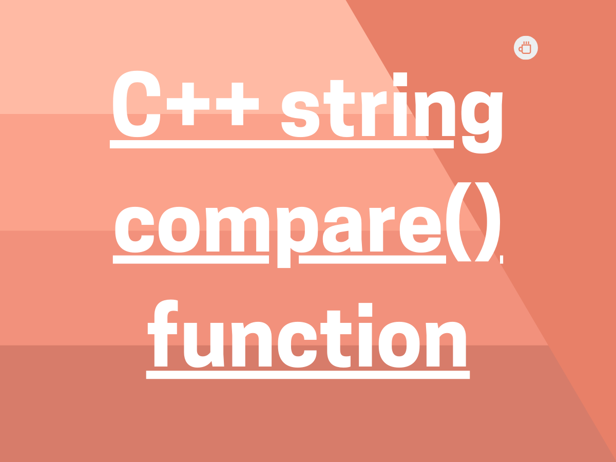 C String Compare() Function