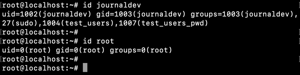 Linux User Groups With Group Id