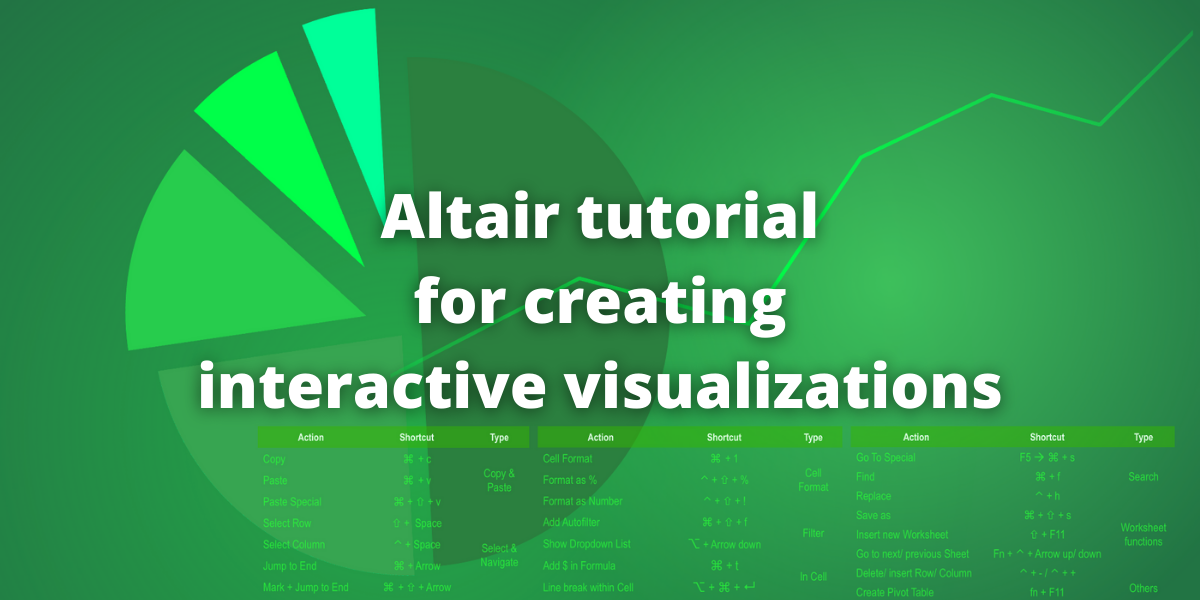 Altair Tutorial For Creating Interactive Visualizations