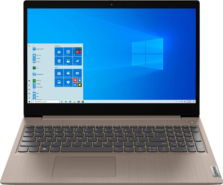 2020 Newest Lenovo IdeaPad 3 15 HD Touch Screen Laptop
